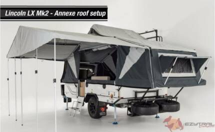 Ezytrail Lincoln LX Mk2 Camper Trailer - True 6 Berth Camper