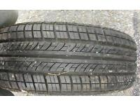 Wheel with new continental tyre 185/60r14