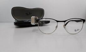 RAY BAN GLASSES 6365 (-5.00 LENSES INC.) 51 2861 BLACK SILVER OCCHIALE