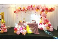 Balloon Decoration /Chair Cover Hire /Party Planner / Event Planner in london