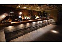 Bar tender & Bar back positions