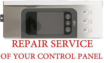REPAIR SERVICE OF YOUR GE MICROWAVE CONTROL PANEL WB07X11192 CVM2072SM2SS
