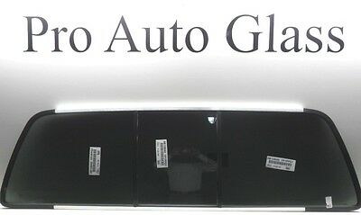 FITS:99-07 FORD F-Series Sliding Tinted  Rear Back  Slider Window GLASS OEM