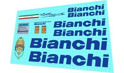 BIANCHI Kit PARIS ROUBAIX decalcomanie //stickers//adesivi