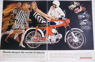 vintage honda motorcycle ads. honda motorcycle ad 1960s advertising pinterest motorcycles and classic bikes vintage ads