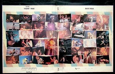 Original AEROSMITH LIVE BOOTLEG 1978 Album Cover COLOR SEPARATION PROOF Artwork