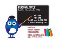 looking for an experienced Science Tutor than contact Mrs Patel on 07933564933
