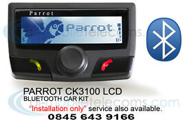 Parrot CK3100 Bluetooth Handsfree Car kits Fitted Merseyside Warrington Wirral Liverpool Southport