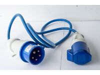 Marine 10M Mains to Shore boat power Hook-Up 230V & Adaptor Lead and Battery Box