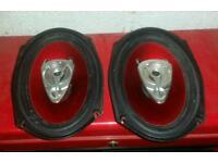 BOSS 400w 6x9 car audio speakers (JBL Sony Vibe)