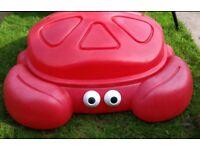 Crab Sandbox /water