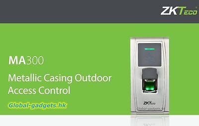 ZKTeco IP65 Waterproof Fingerprint+RFID Card Door Access Controller MA300 TCP/IP
