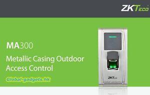 USA ZKTeco MA300 Waterproof Biometric Fingerprint+RFID Door Access Controller