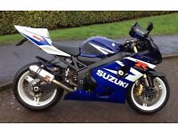 Suzuki GSXR600K4, very clean example..Part exchange with cash either way.