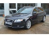 Audi A4 avant S line in black for sale! Great condition!