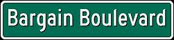 The Bargain Boulevard