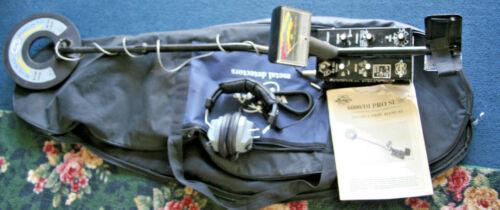 WHITES 6000/Di PRO SL Metal Detector Blue Max 950 with Manual ,Headphones,Case