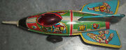 Vintage Tin Toy Rocket