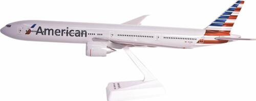 Flight Miniatures American Airlines Boeing 777-300ER 1/200 Scale Model with Stan