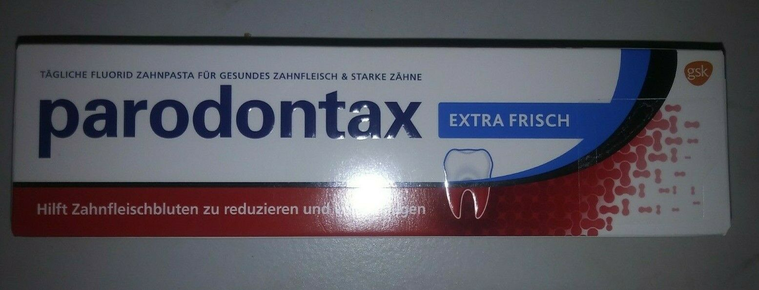 Parodontax Zahnpasta Zahncreme 75ml extra frisch - Neu