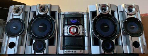 SONY MHC-GX9000 Mini HiFi Component Speaker System 3 CD Changer MP3 Tuner Remote
