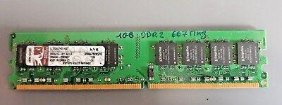 KINGSTON 1Gb PC2-5300 DDR2 667 MHz