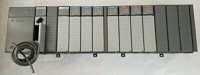 Allen-bradley Slc 500 1746-p2 Series C Power Supply With 1746-a13 Series B Slot