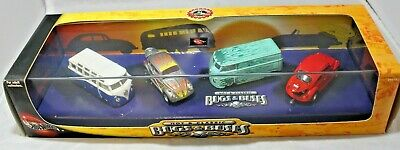 Hot Wheels 100% Manufactures Series, Hot & Classic VW Bugs & Buses Set.