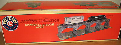 LIONEL 6-37816 ROCKVILLE BRIDGE O GAUGE SCALE TRAIN LAYOUT ACCESSORY STRUCTURE for sale  Moosic
