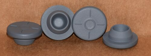 20mm Gray Butyl Serum Vial Stoppers Round Qty. 5000