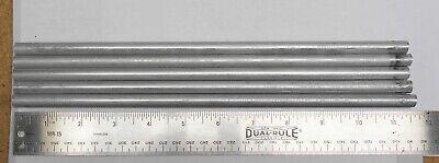 2011-t3 Aluminum Round Rod 38 .375 5 Pieces 11 Round Stock Cutoffs