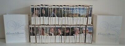 Superb BBC Classic Drama, the complete DVD collection, all 71 DVD's & magazines.
