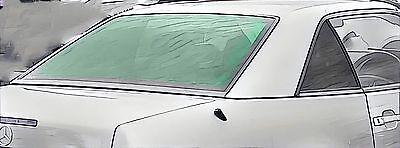 MERCEDES R129 SL CABRIO 1989-01 heizbare Heckscheibe f. Hardtop VERBUNDGLAS grün