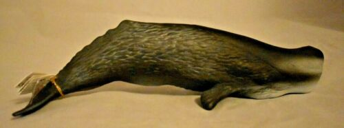 NWT Sperm Whale Toy Figurine #56021 from Papo 11 5/8 inches long