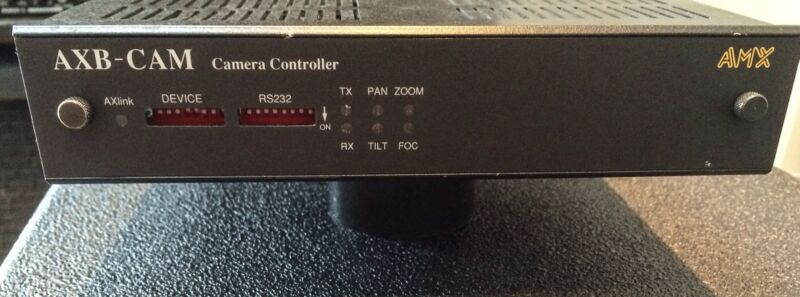 AXB-CAM Camera Controller By AMX Corp - RS232 PTZ & Focus Control