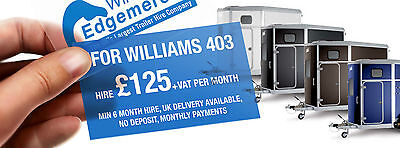 Ifor williams horse trailer 403 monthly hire £150 a month NEW