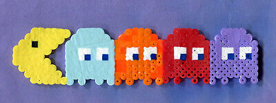 "PAC-MAN Arcade Game Characters 1/"" Wide Repeat Ribbon Sold in Yard Lots"
