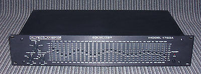 1989 Altec 1753A - 28-band graphic equalizer - OUTSTANDING CONDITION!!...Minty!