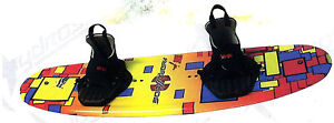 Youths-Jr-Wakeboard-NEW-2014-180-Jr-W-LACE-UP-Bindings-FREE-rope