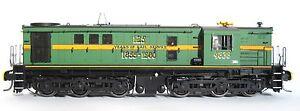 TrainOrama, 48 Class HO Scale, Locomotive, Green with 125 years writing 4836