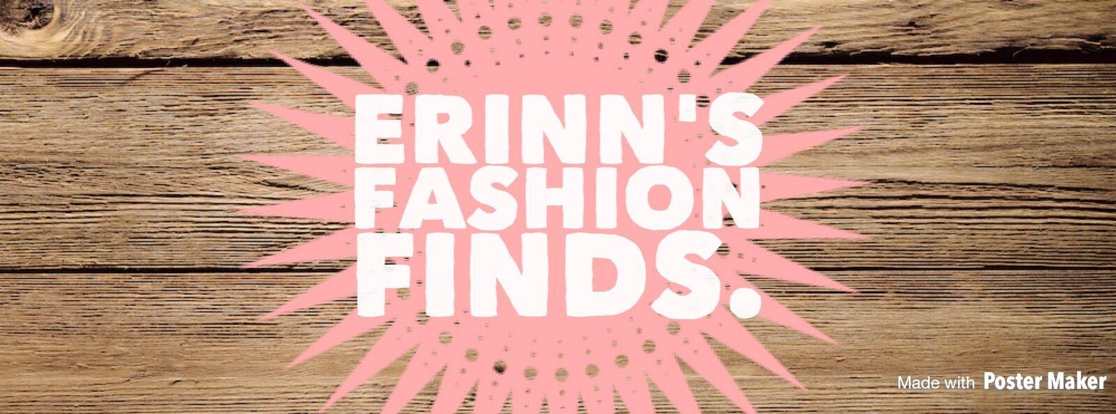 Erinn's Fashion Finds