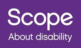 Work for Scope! Street Fundraising - Immediate Start, Weekly Pay! £9.50+ph!