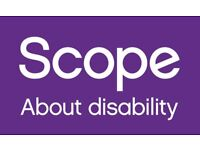 Work for Scope! Street Fundraising - £9.50-14ph! Full Time, Immediate Start & Weekly Pay.