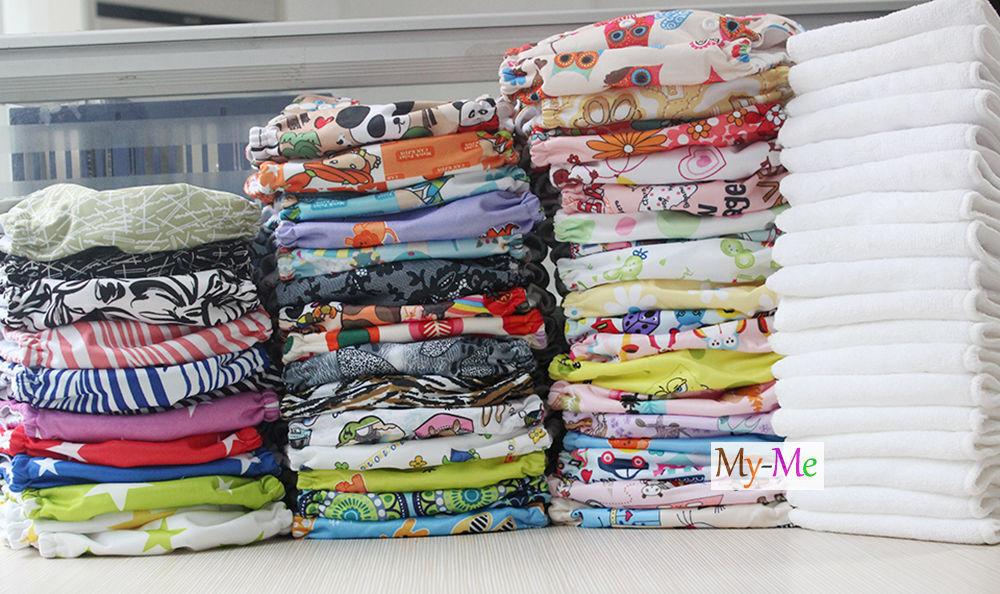 Hip Snap Baby One Size Cloth Diaper Reusable Pocket Nappy Ne