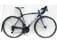 Ribble Carbon Sportive 365 bike with mudguard, size medium 52cm, Shimano 105 2 x 11 speed groupset.