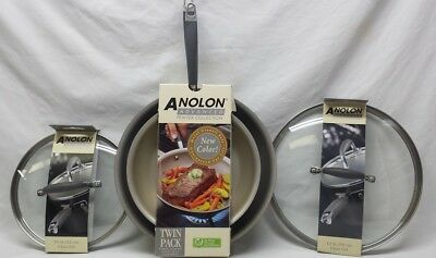 Anolon Advanced French Skillet Twin Pack 10