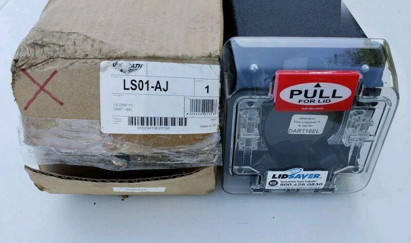 LS01-AJ Vollrath LidSaver In-Counter Cup Lid Dispenser Manual store DART16EL