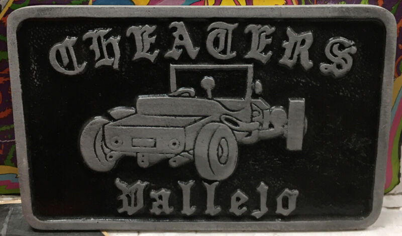 Cheaters Vallejo Car Club Plaque