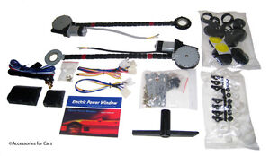 COMPLETE-CAR-UNIVERSAL-POWER-WINDOW-KIT-W-3-ILLUMINATED-SWITCHES