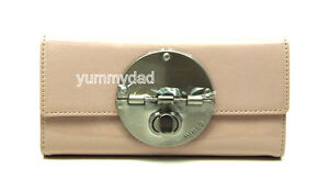 MIMCO LARGE TURNLOCK WALLET PATENT LEATHER IN COURTESAN PINK BNWT RRP199